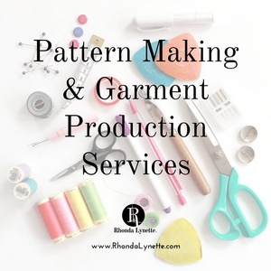 Pattern Making & Garment Production Services