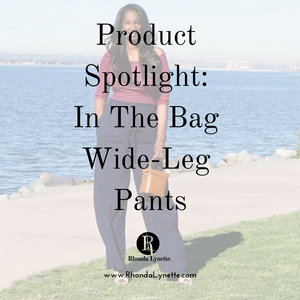 Product Spotlight: In The Bag Wide-Leg Pants