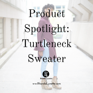 Product Spotlight: Turtleneck Sweater