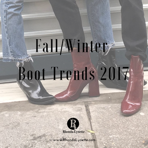 Fall/ Winter Boot Trends 2017