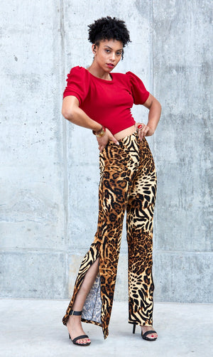 Safari Pants- Brown