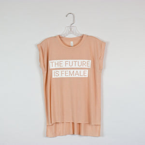 The Future Is Female Muscle Tee