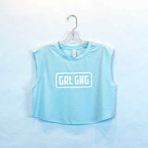GRL GNG Festival Crop Top