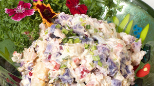 Okinawan Sweet Potato and 'Ulu Salad Recipe
