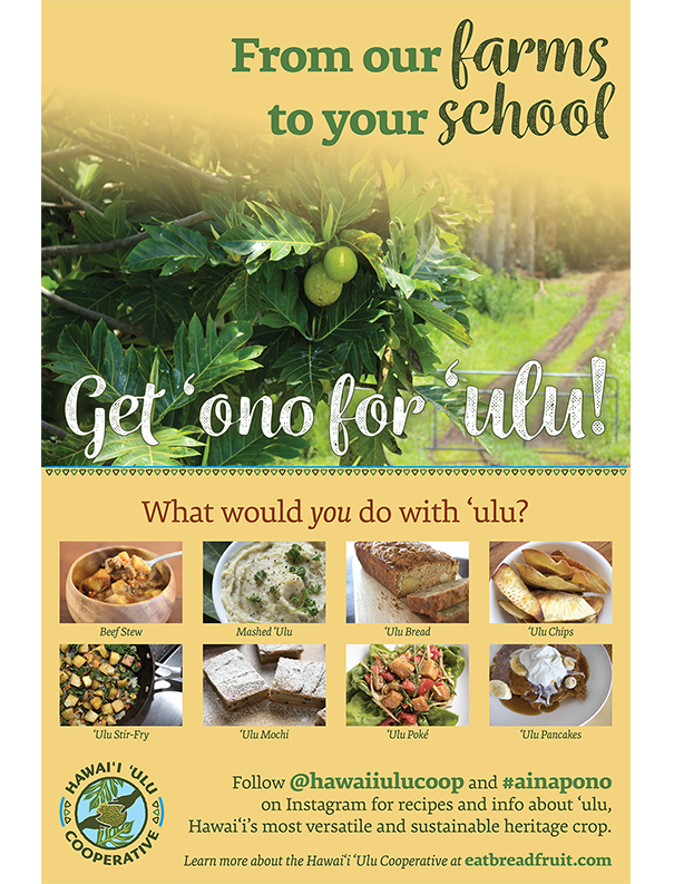 From Our Farms to Your Schools: Get 'Ono for 'Ulu!