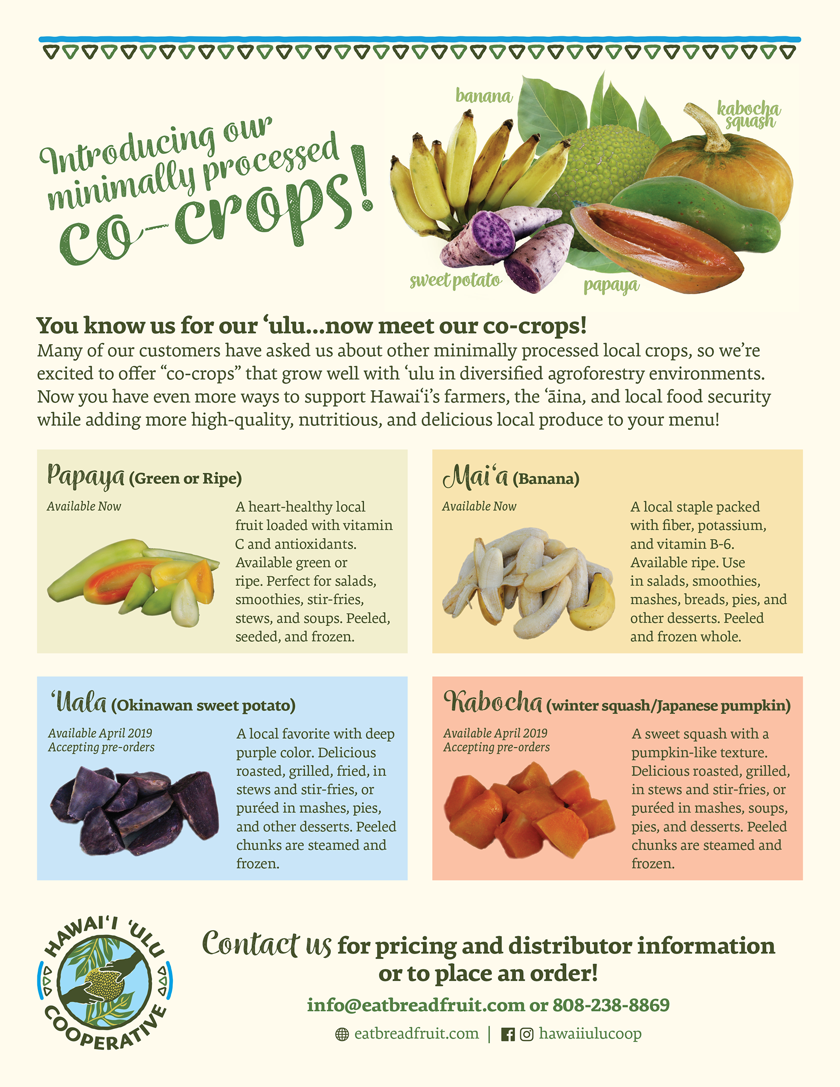Co-Crops Product Flyer preview image