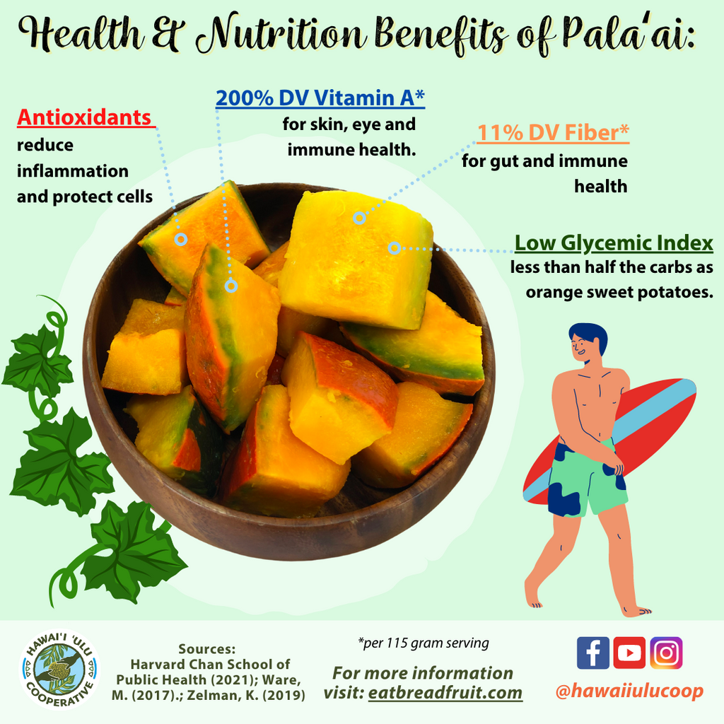 health and nutrition of squash infographic, 200% DV Vitamin A, 11% DV Fiber, Low Glycemic Index, Packed with Antioxidants