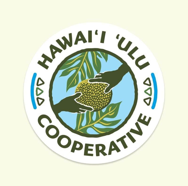 Sticker - Hawai'i 'Ulu Cooperative logo