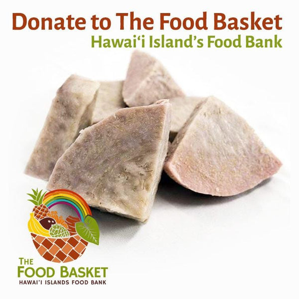Donate 5 lbs. of Kalo (Taro) to The Hawai'i Food Basket