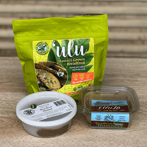 Retail Product Sampler Pack - Frozen 'Ulu, Hummus & Chocolate Mousse