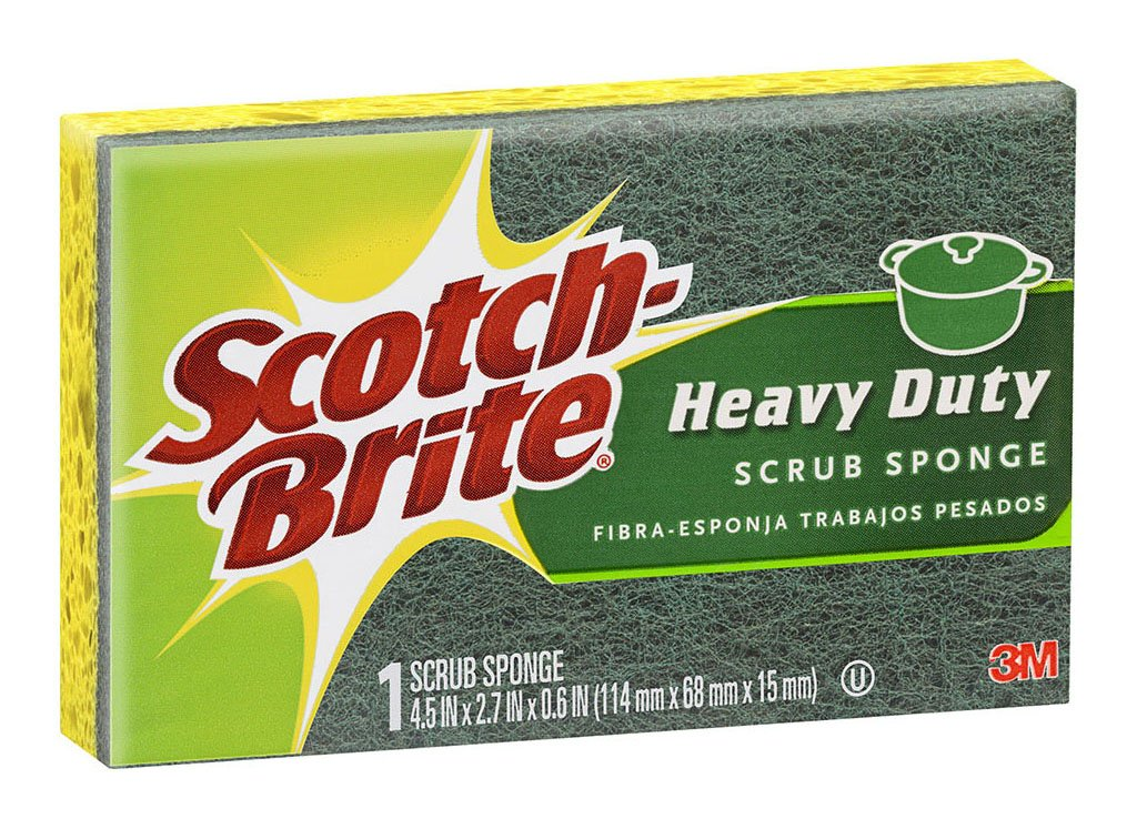 Scotch-Brite Heavy Duty Kitchen Scrub Sponge