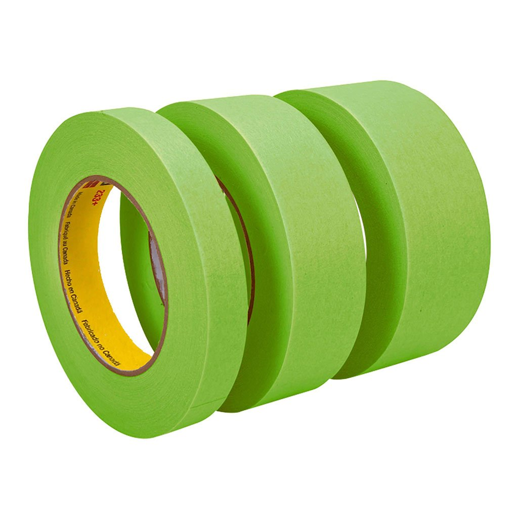 Scotch Masking Tape 233+ Performance 36mm x 50mm Green