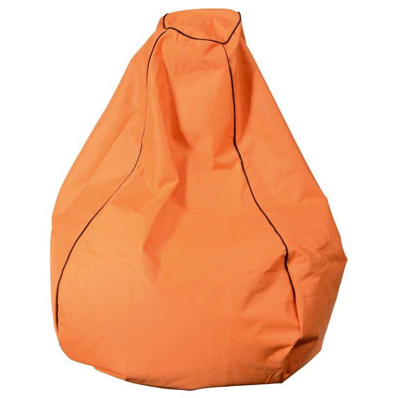 Studio Bean Bag Orange 200l Filled Prem Outdoor