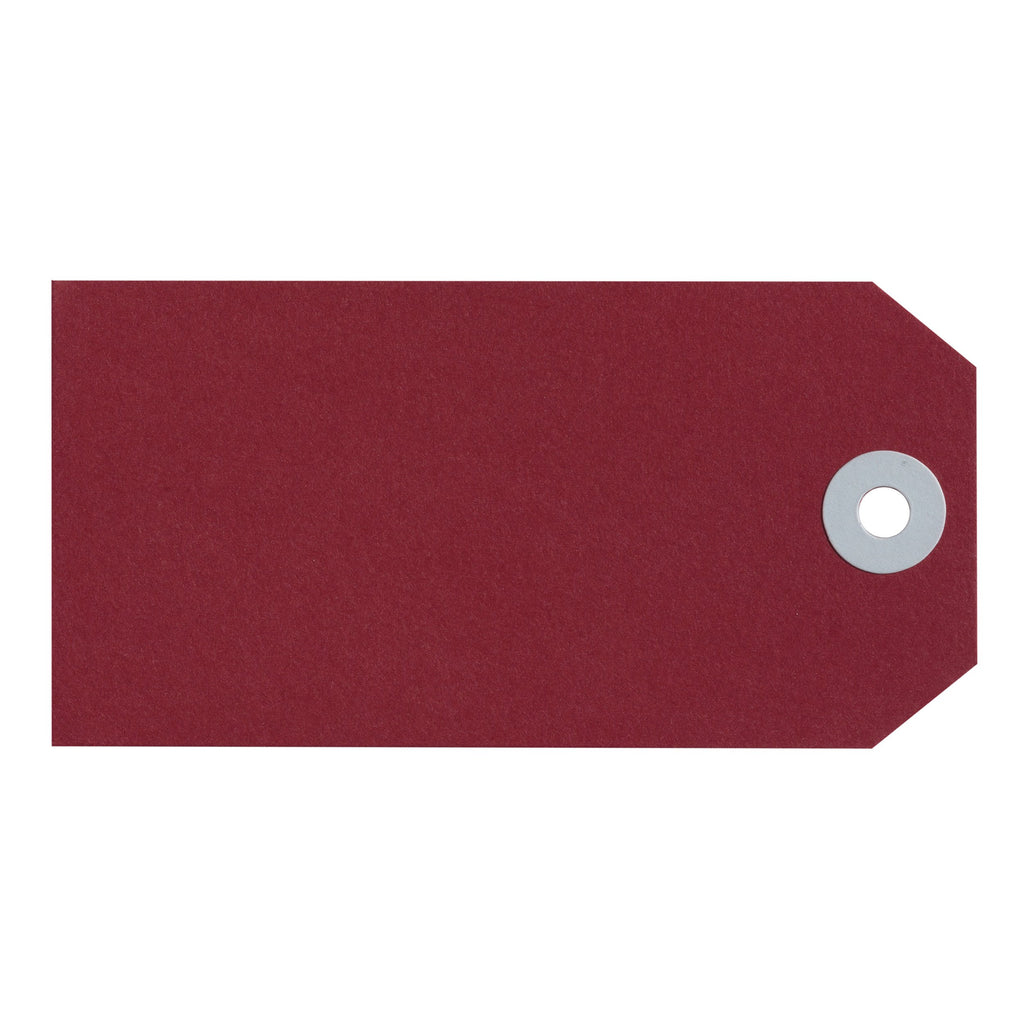 Avery Shipping Luggage Tag Red Size 4 Box 50