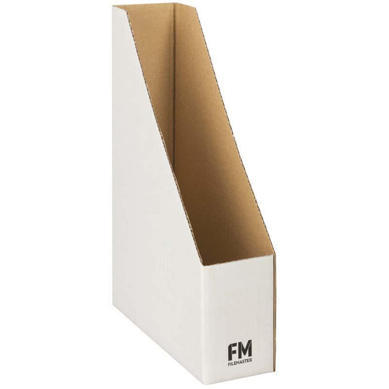 FM Magazine File No4 White 80x360x250mm