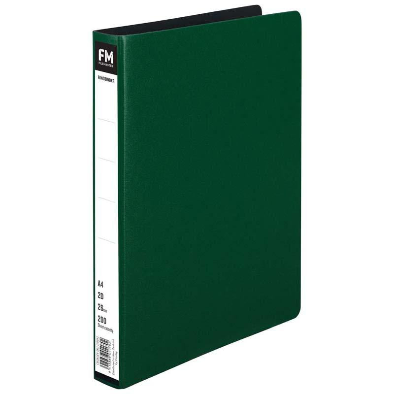 FM Ringbinder A4 Green Trunk Board