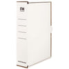 FM Storage Carton White Foolscap 385x250x85mm Standard Strength 900/Pallet