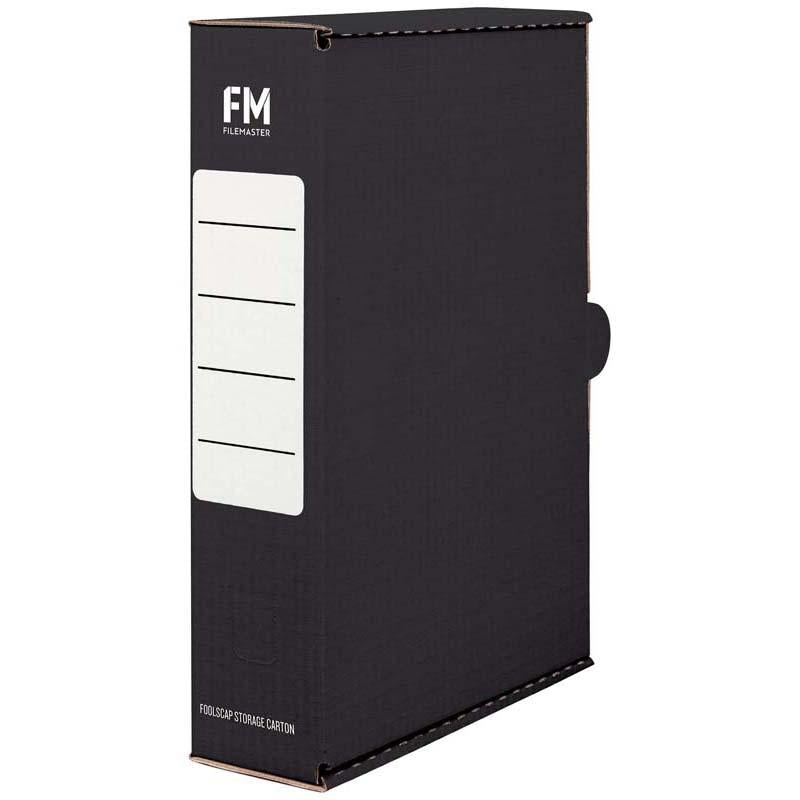FM Storage Carton Black Foolscap