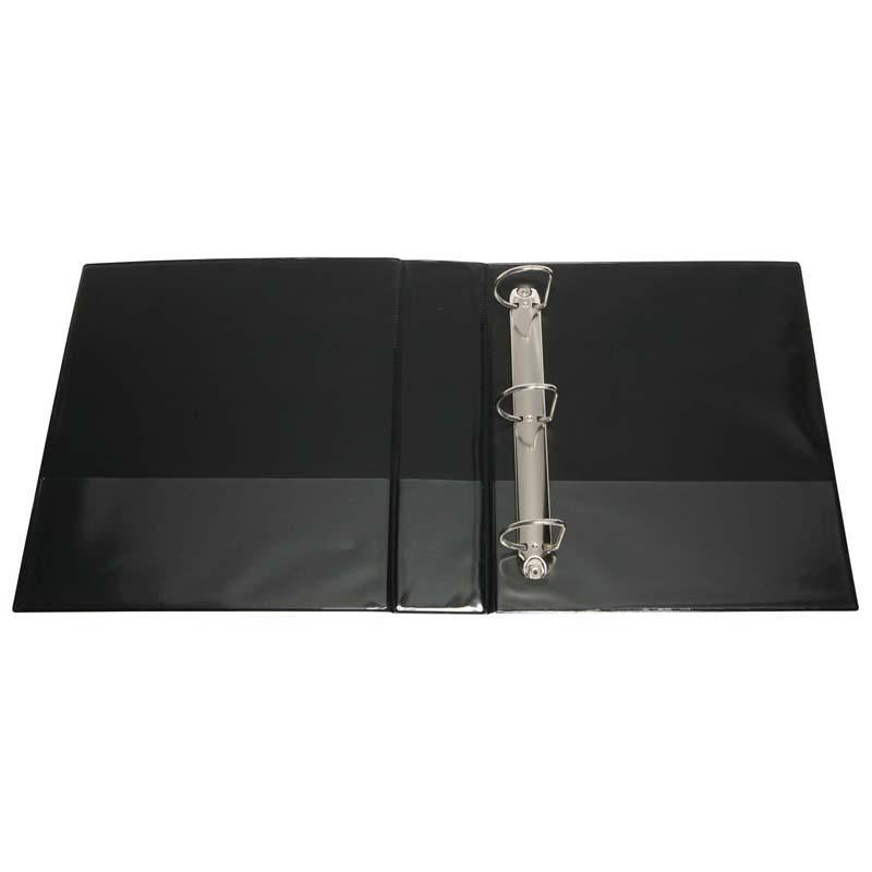 FM Binder Overlay A4 3/50 Black Insert Cover