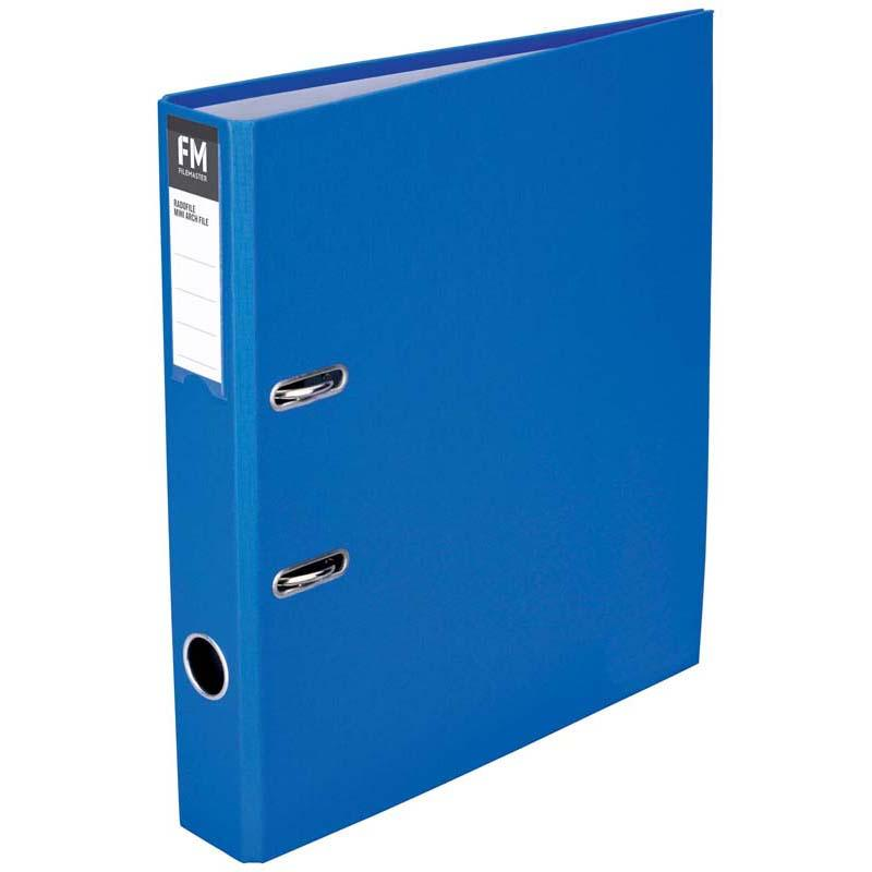 FM Binder Radofile Mini Blue Foolscap Lever Arch