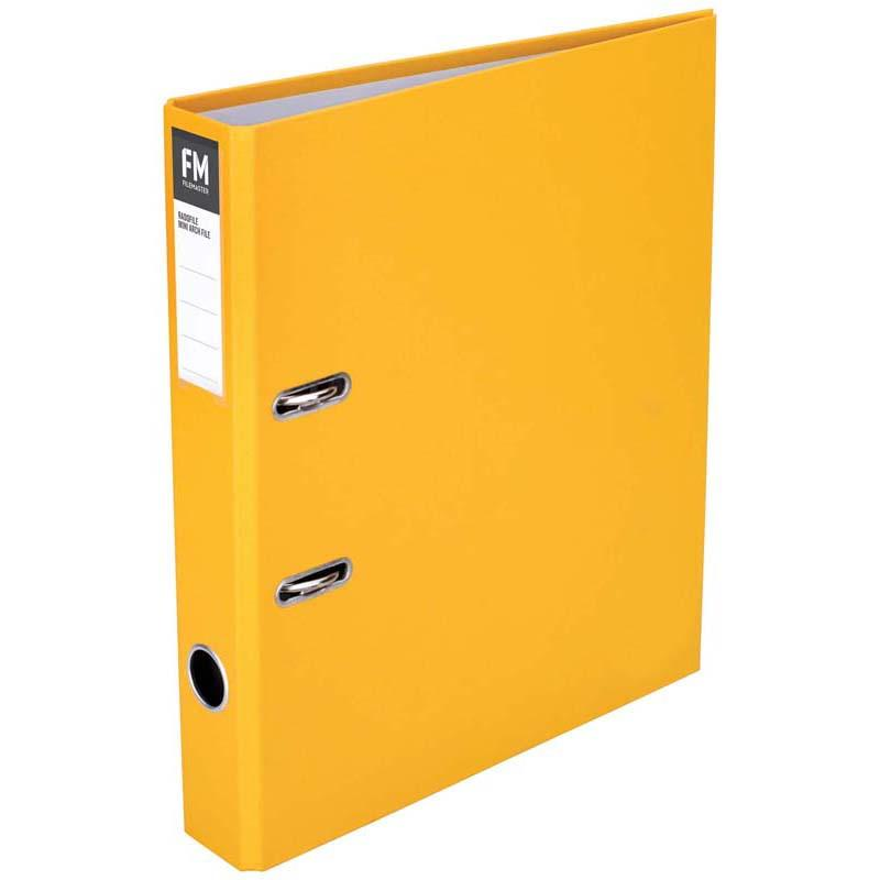 FM Binder Radofile Mini Yellow A4 Lever Arch