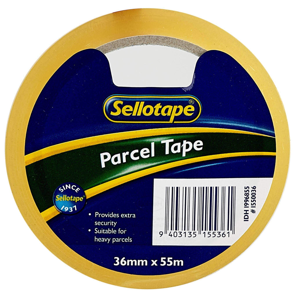 Sellotape 1550 PP Clear 36mmx55m
