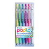 Pilot Pop'lol Gel Fine Asstd. Pastel 6Pk