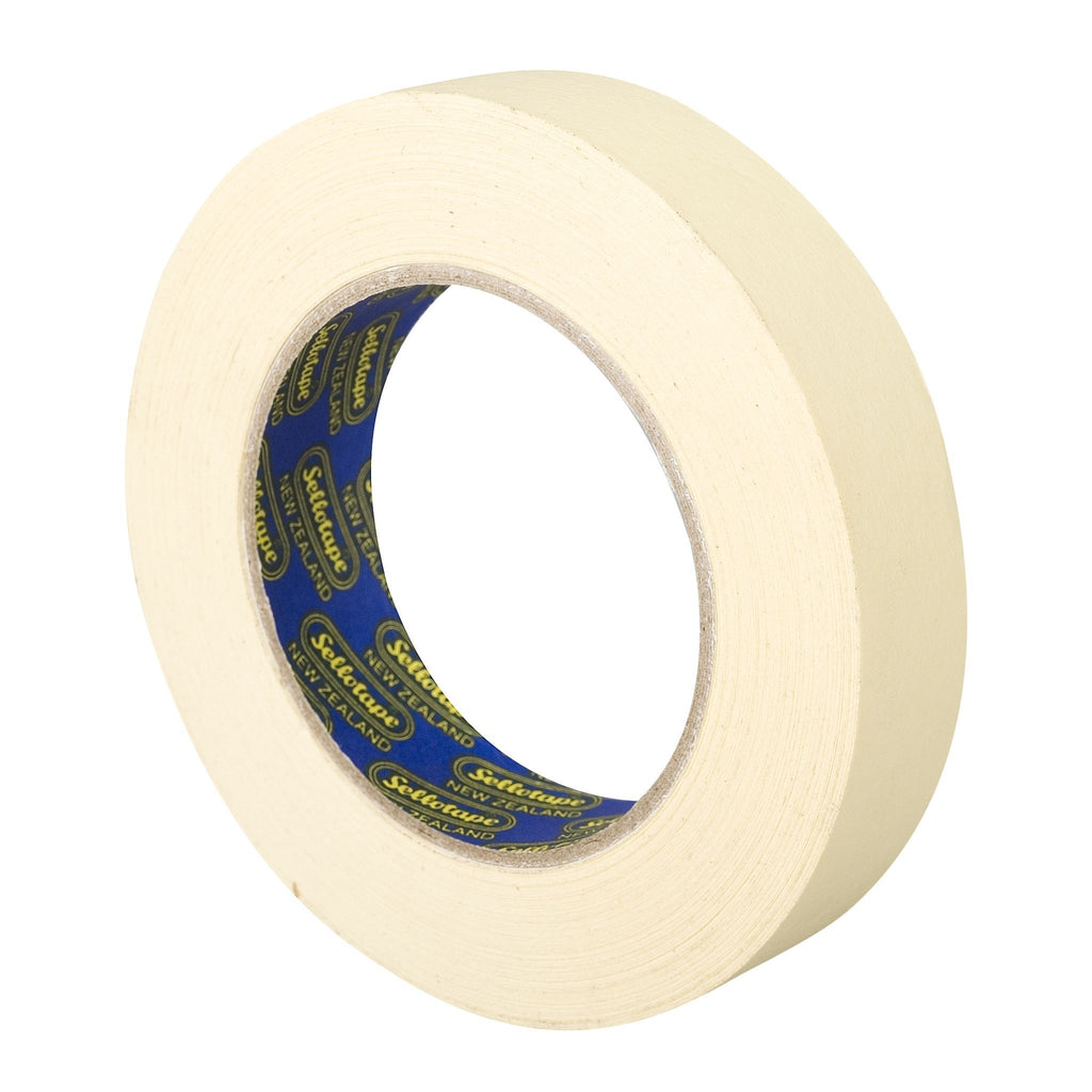 Sellotape 5870 Industrial Glazing Masking Tape 24mmx50m