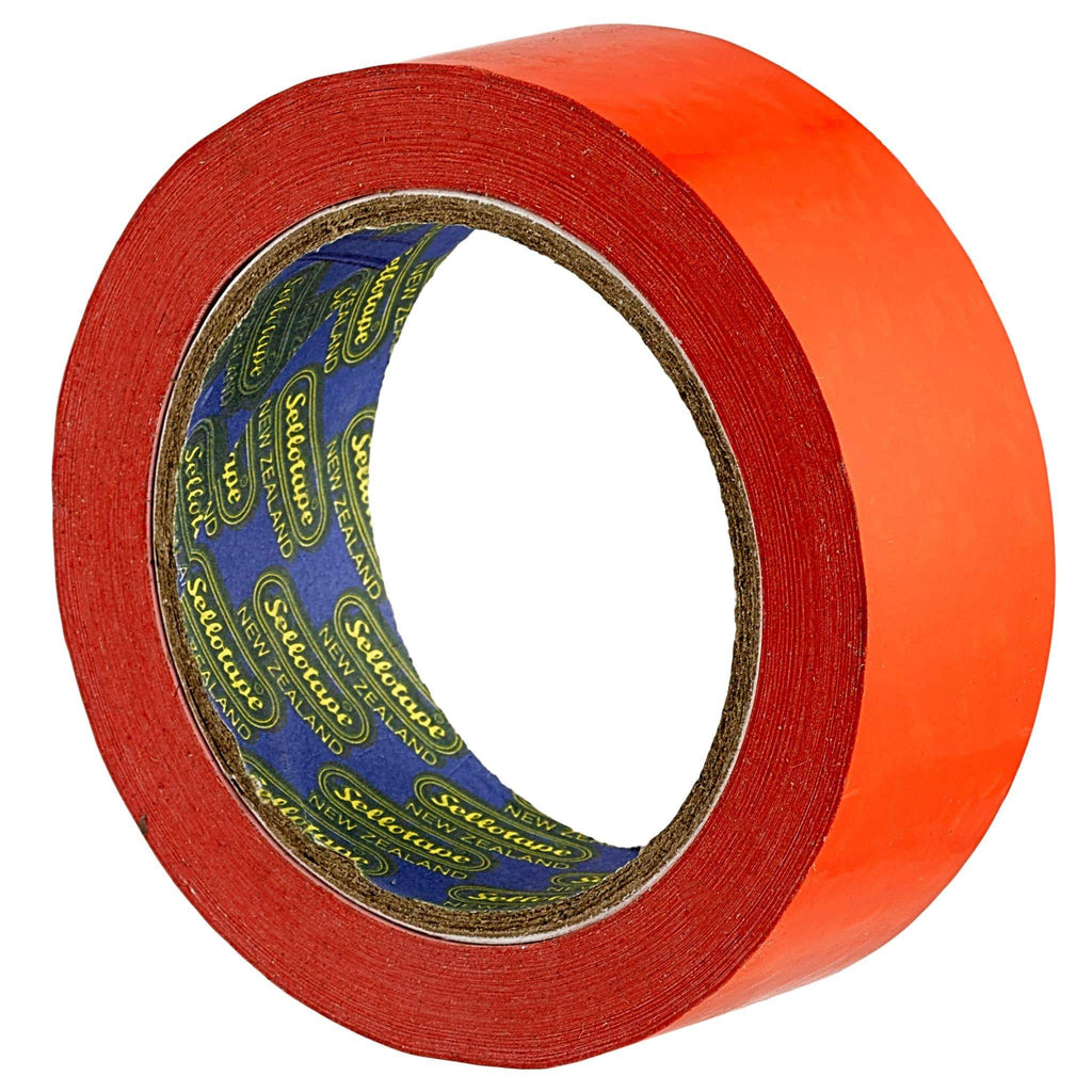 Sellotape 1521 Vinyl Tape Red 38mmx66m