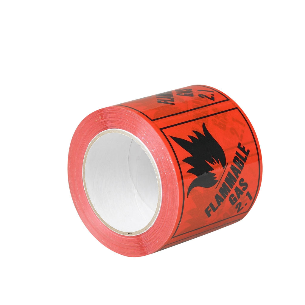 Sellotape RIP096L Flame Gas 2.1 Label 96mmx100m