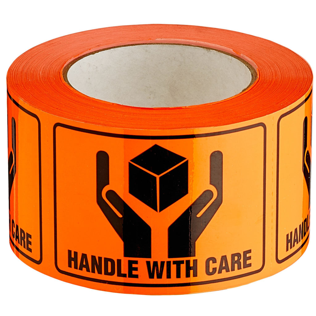 Sellotape 0727 Handle With Care Label 72mmx100mm