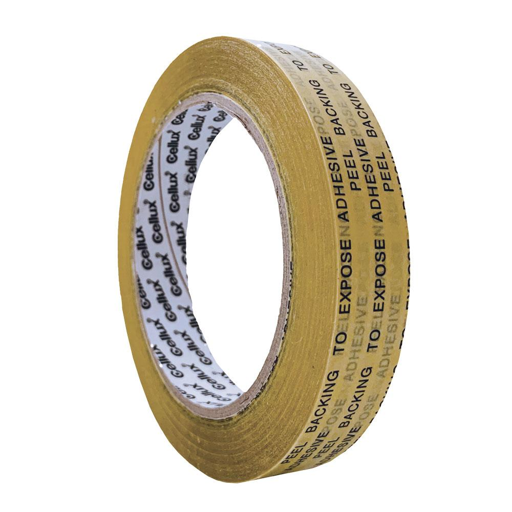 Cellux Double Sided Tape 18mm x 33m