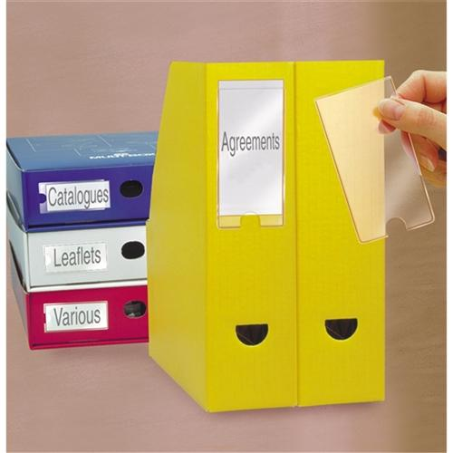 3L Label Holder 55x102mm 6 Pack