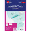 Avery Label L7551-25 Clear 25 Sheets