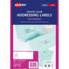Avery Label L7563-25 Clear 25 Sheets