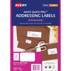 Avery Label J8160-50 Inkjet 50 Sheets
