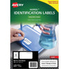 Avery Nopeel Label L6146 White 24 Up 10 Sheets Laser 63.5x33.9mm