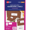 Avery Label J8651-25 Inkjet 25 Sheets