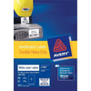 Avery Heavy Duty ID Label L7068 White 2 Up 25 Sheets Laser 199.6x143.5mm