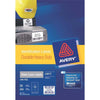 Avery Heavy Duty ID Label L6012 Silver 10 Up 20 Sheets Laser 96x50.8mm