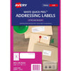 Avery Label L7157-100 64x24.3mm 100 Sheets