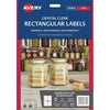 Avery Label L7113 Rectangular Crystal Clear 10up 10 Sheets