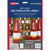 Avery Removeable Rectangular Labels 10 Sheets 9 Up White L7108rev