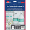Avery Label L7146 Wrapround White Durable 5 Up 12 Sheets Laser 196x51mm
