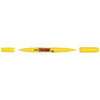 Uni Prockey Marker Dual Tip 0.4/0.9mm Yellow PM-120