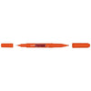 Uni Prockey Marker Dual Tip 0.4/0.9mm Orange PM-120