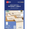 Avery Label L7165 Internet Shipping 8/Sheet 99.1x67.7mm 10 Pack