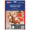 Avery Tags C32300 Pricing Double Sided 89x51mm 10up 5 Sheets Inkjet Laser