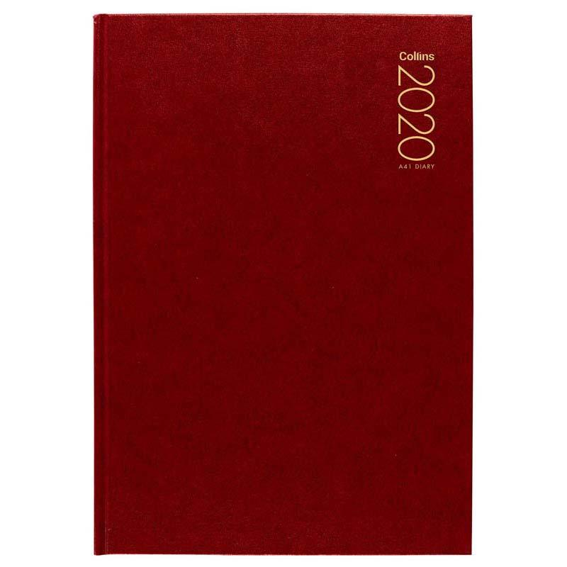 Collins Diary A41 Red Even Year