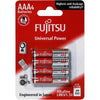 Fujitsu Batteries AAA Universal 4 Pack 1.5v Power